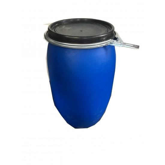 Baril bleu avec joint étanche 30 gallons