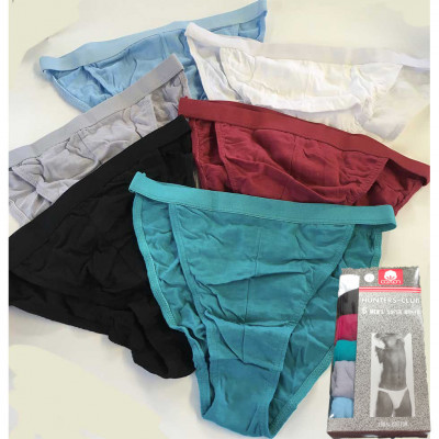 Underwear for men - Thin elactic - 100 % coton - sold by 6