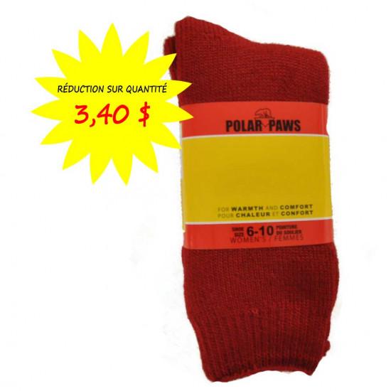 Bas / chaussettes polar paws pour femmes
