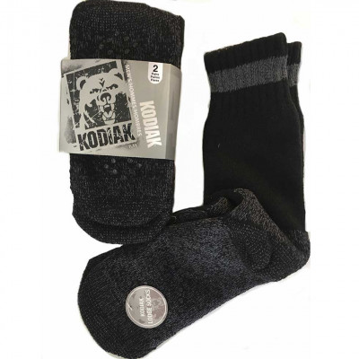 Bas / chaussettes Kodiak pour hommes - Lot de 2 paires