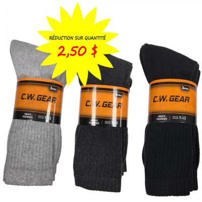 Chaussettes / Bas pour hommes CW-Gear - Lot de 3 paires