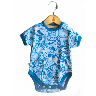 Child Diaper Shirt - Cirque du soleil - Model 1