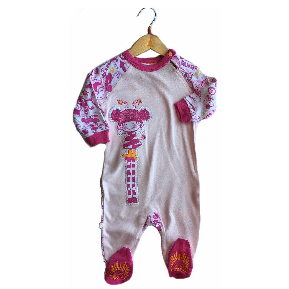 b448c4a76841b Pyjama enfant -avec pied - Cirque du soleil - Modèle 1