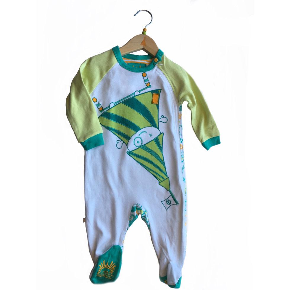 81b9334a06f81 Pyjama enfant -avec pied - Cirque du soleil - Modèle 2