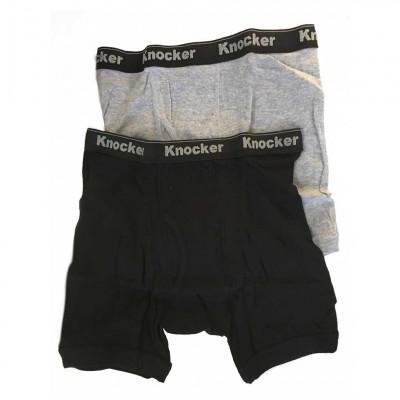 Boxer pour homme - Knocker - 100 % coton