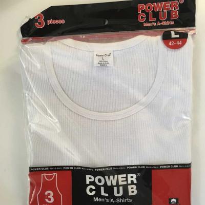 Maillot de corps / camisole pour homme - blanc - 100 % coton
