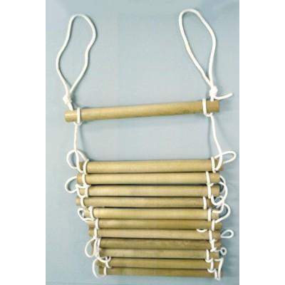 Échelle d'escalade en bois pour enfant – Intérieur / Extérieur