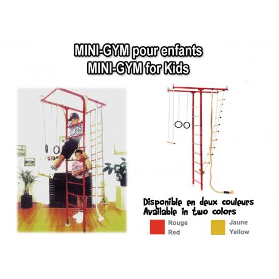 Mini-Gym complet pour enfant – Intérieur / Extérieur